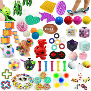 Fidget Toys Set Sensory Tools Bundle Stress Relief Hand Kids Adult ADHD Toy Gift