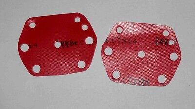 PORSCHE 912 SOLEX 40 PII 4 PUMP DIAPHRAGM ORIGINAL EFFBE
