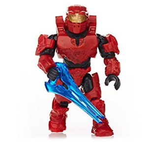 new in Package red SPARTAN MARK IV Foxtrot series HALO Mega Construx
