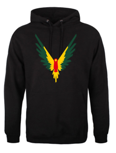 MAVERICK MULTICOLOUR HOODIE MAVERICK BIRD LOGAN JAKE PAUL