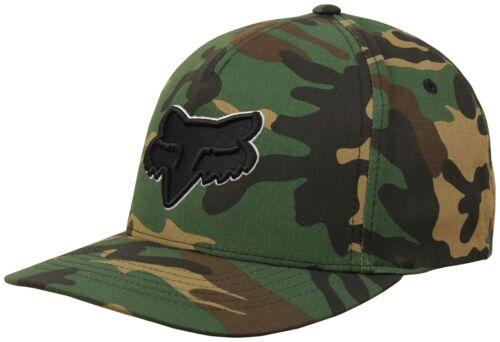 Green Camo Fox Epicycle FlexFit Hat New