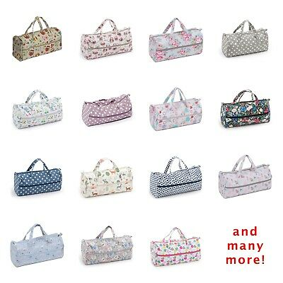 Many Designs 15 x 42 x 17.5cm Knitting Bag // Craft Bag // Holdall HobbyGift