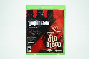 Wolfenstein-The-New-Order-and-The-Old-Blood-Xbox-One-Brand-New