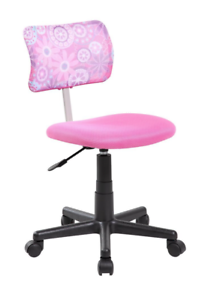 competitive price 863c8 8e2ae Details about New Pink Floral Office Chair Furniture Adjustable Computer  Desk Seat Teen Youth