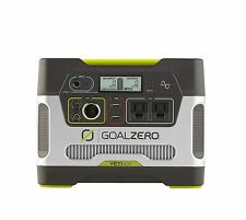New! Goal Zero Yeti 400 Solar Generator, 400wh, 33Ah, USB , Recharge Solar, AC