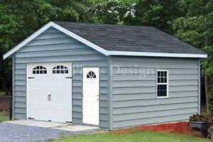 Car-Garage-Building-Plans-18-x-20-Structure-Blueprint-Design-51820