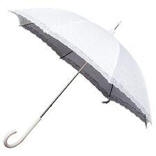 Ombrelle Blanche - Canne - Dentelle - Parapluie - Mariage - Mariée - Kawaï