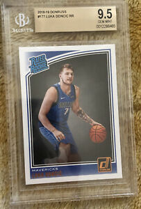 HOT-2018-19-Luka-Doncic-Rated-Rookie-Panini-Donruss-177-BGS-9-5-PSA-10