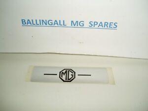 215-620 MG MGB SPRITE MIDGET SELF ADHESIVE MG ROCKER DECAL