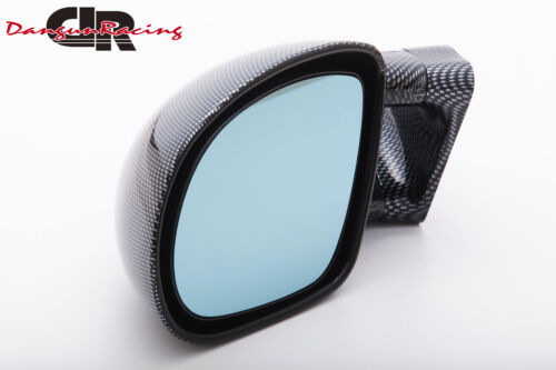 JDM DTM Mirror Carbon look AT LH For 91-98 VOLVO 940