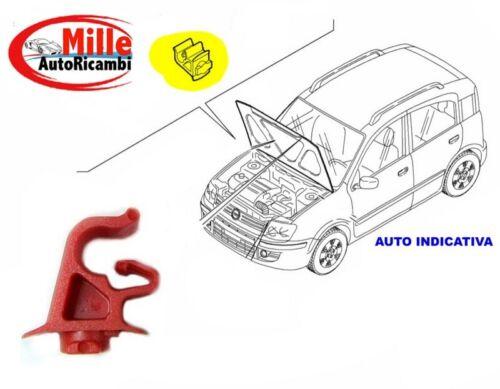 MOLLA MOLLETTA BLOCCO ASTINA FIAT PUNTO II DAL 1999 AL 2003 COFANO ANT SU FRONTA