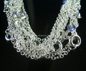 wholesale-5pcs-solid-925Silver-thin-1-8mm-O-Link-Chains-Necklaces-26-inch