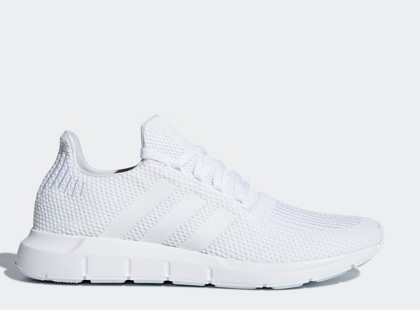 buy popular quite nice professional sale Adidas Swift Run All White B37725, Running Shoes Athletic Sneakers