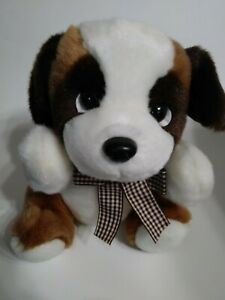 Unbranded-Brown-And-White-Dog-9-034-Plush-Stuffed-Animal
