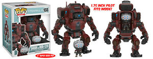 POP Games Titanfall Super Sized 6-inch Funko POP Sarah and MOB-1316 Set 133
