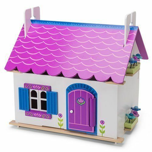 LE TOY TOY TOY VAN Daisy Lane ANNA'S LITTLE HOUSE Wooden Dolls House f33b5c