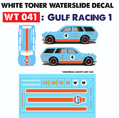 Details about  /WT150 White Toner Waterslide Decals /> MARTINl1 />For Custom 1:64 Hot Wheels