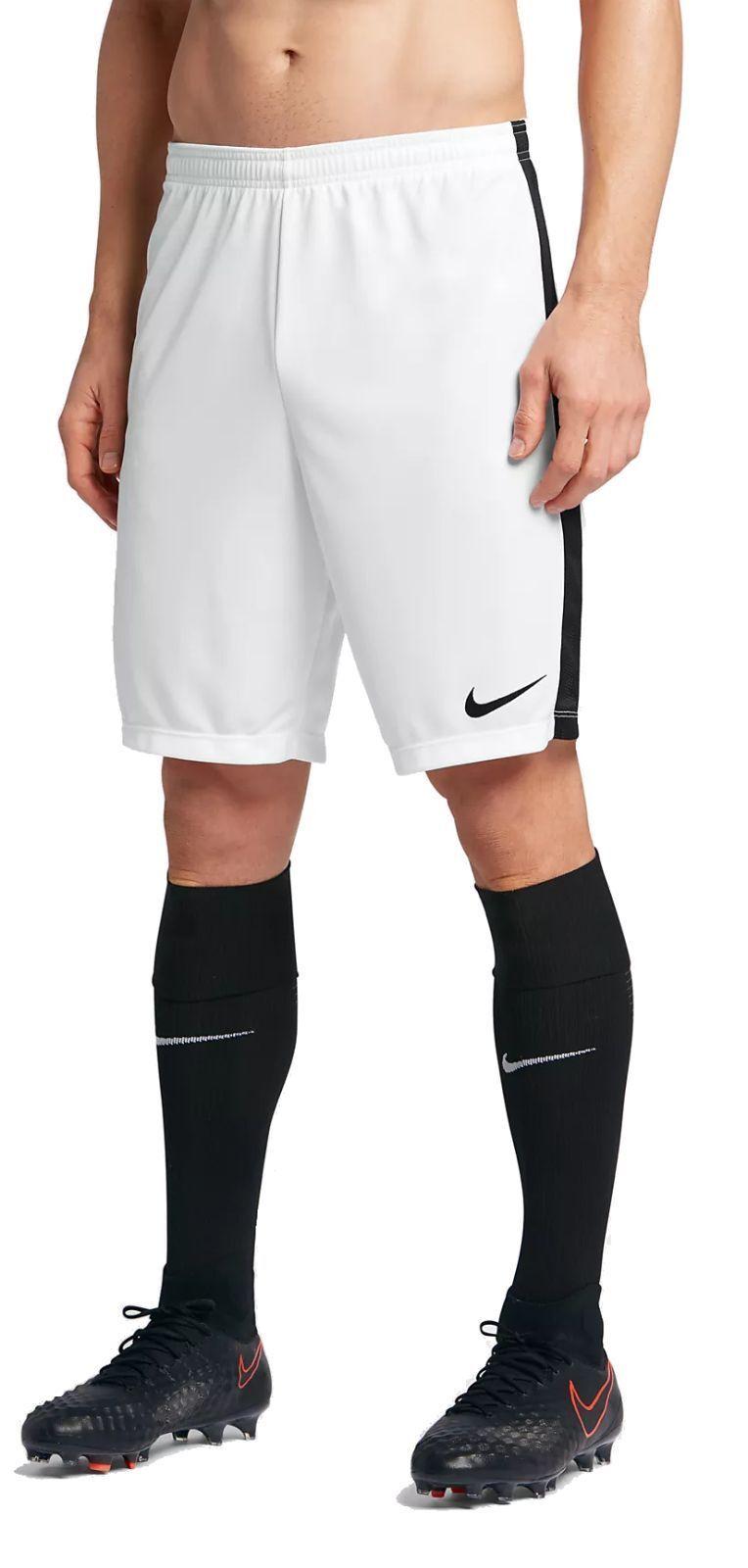 Nike Hommes Football Fitness Academy Short NIKE dry Academy Fitness Short Blanc Noir 6a7b83