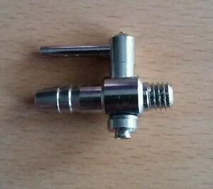 Pumps (water) Stainless Steel Air Tap 4mm Threaded
