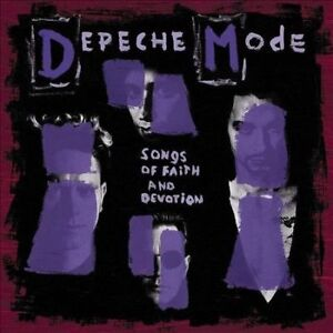 Depeche Mode – Songs Of Faith And Devotion - LP Vinyl Record - NEW Sealed -
