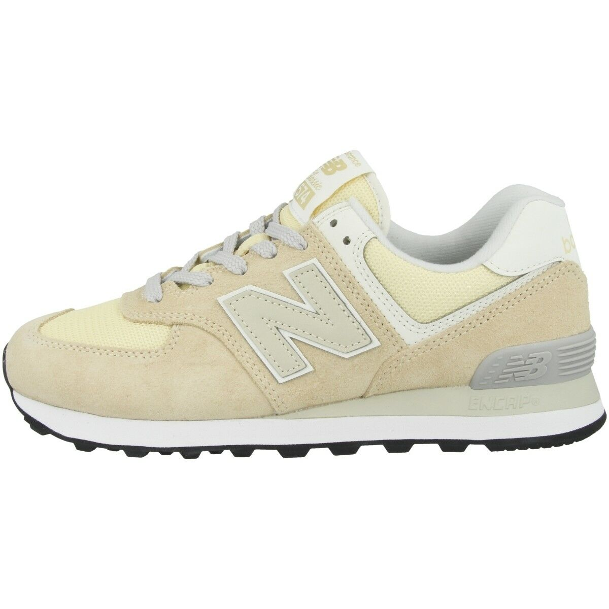 New Balance Damen WL 574 CRA Schuhe Damen Balance Sport Sneaker Turnschuhe vanilla WL574CRA 5c1b5c