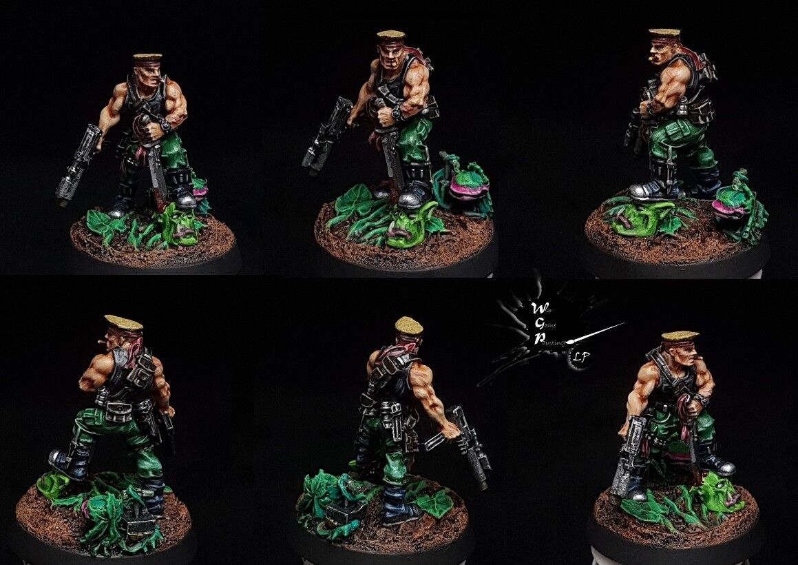 Sly Sly Sly Marbo Astra Militarum Commission Superbly Painted Warhammer 40K 997272
