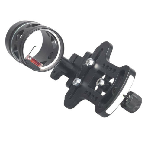 Adjustable Single Pin Bow Sight 1-Pin Archery Compound Bow Sight Right Hand