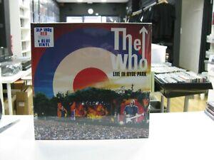 The Who 3LP Europa Live IN Hyde Park 2020 Red,White & Blue Vinyl Gatefold 180GR