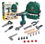 thumbnail 1 - Children's Toolbox Set With Carry Bag, Electric Drill With Sound Plus Hand Tools