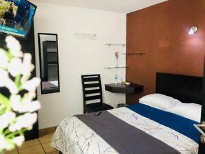 Rento Habitaciones amuebladas con servicios y baño propio Plaza crystal puebla