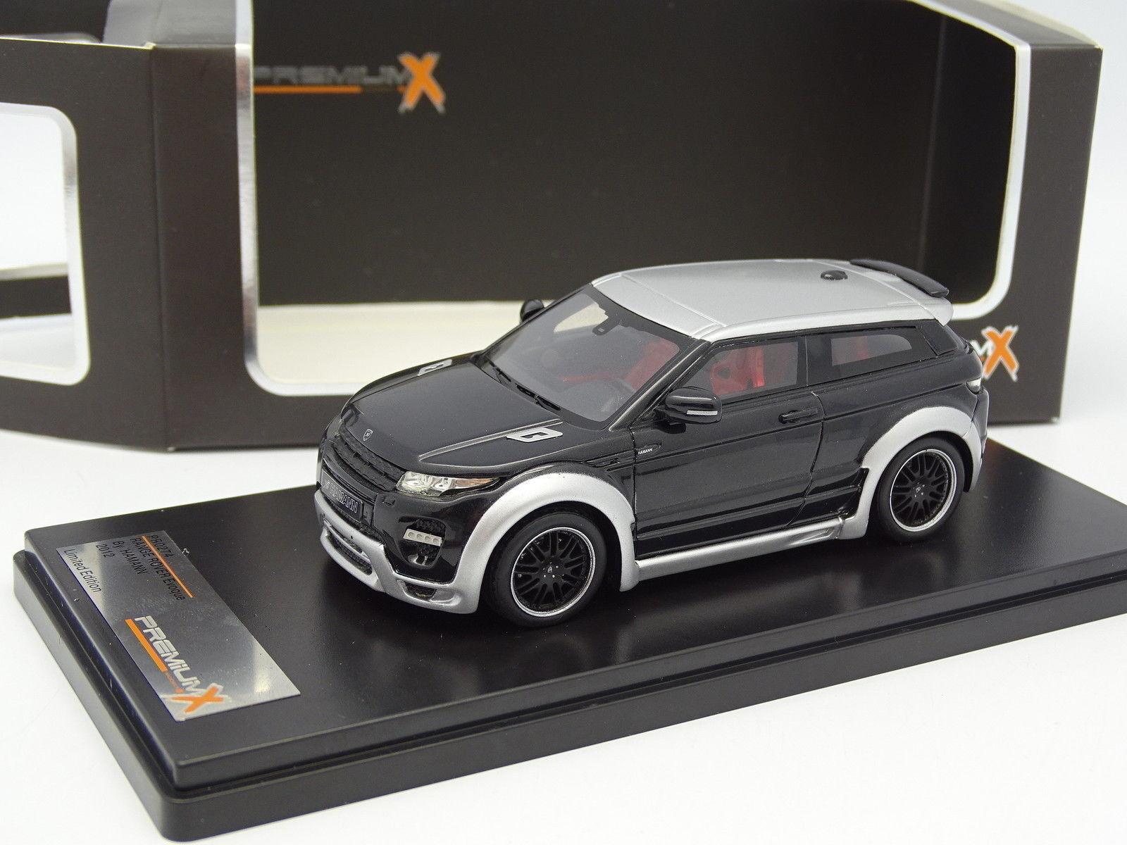 Premium X Résine 1 43 - Range Rover Evoque Hamann 2012 Noire