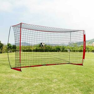 a02168492 Ancheer Portable 6X12FT Soccer Goal Real Bow Net Practice Net W ...