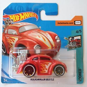Details About Hot Wheels Vw Beetle Oval Window Red