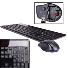 Logitech MK750 2.4GHz Wireless Solar-Powered Keyboard & Laser Mouse Kit