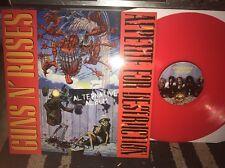 GUNS N ROSES -APPETITE FOR DESTRUCTION ALTERNATE ALBUM LP on red vinyl