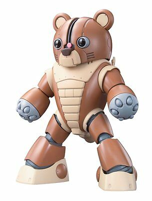 Gundam Bandai Gunpla Builders Hg 1/144 Model Kit #04 Gpb-04b Beargguy Figure Stabile Konstruktion Spielzeug