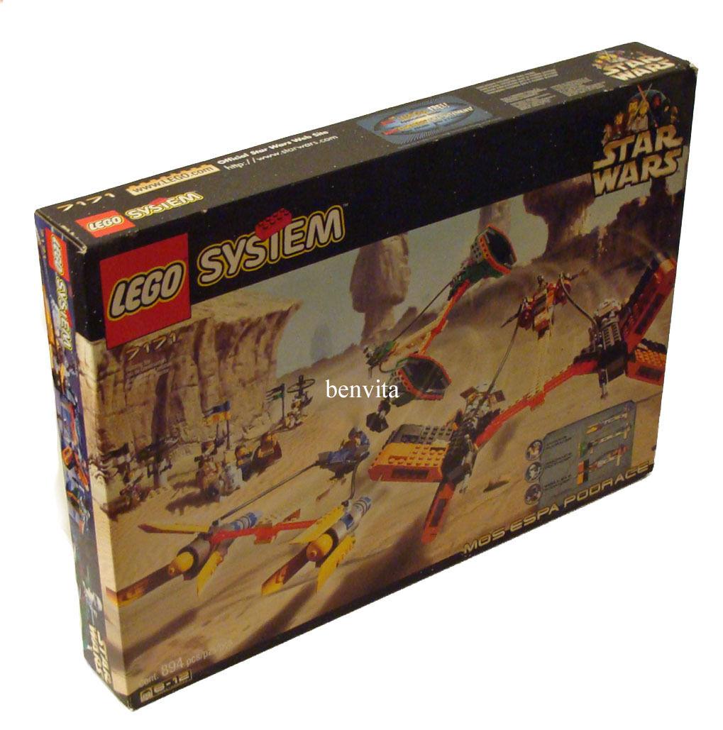 Lego  Star Wars 7171-Mos Espa podrace 8-14 años 894 piezas-nuevo