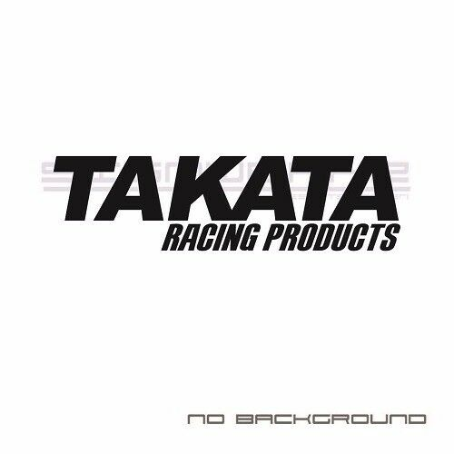 Takata Decal sticker JDM Japan Seat Belts Racing products Pair