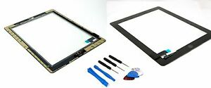 Apple-Ipad-2-HQ-ecran-tactile-Digitizer-verre-verre-ecran-Noir