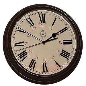 RAF-1943-Pattern-Replica-12-24-Wall-Clock-12-034-30-5cm-Silent-Sweep-Movement