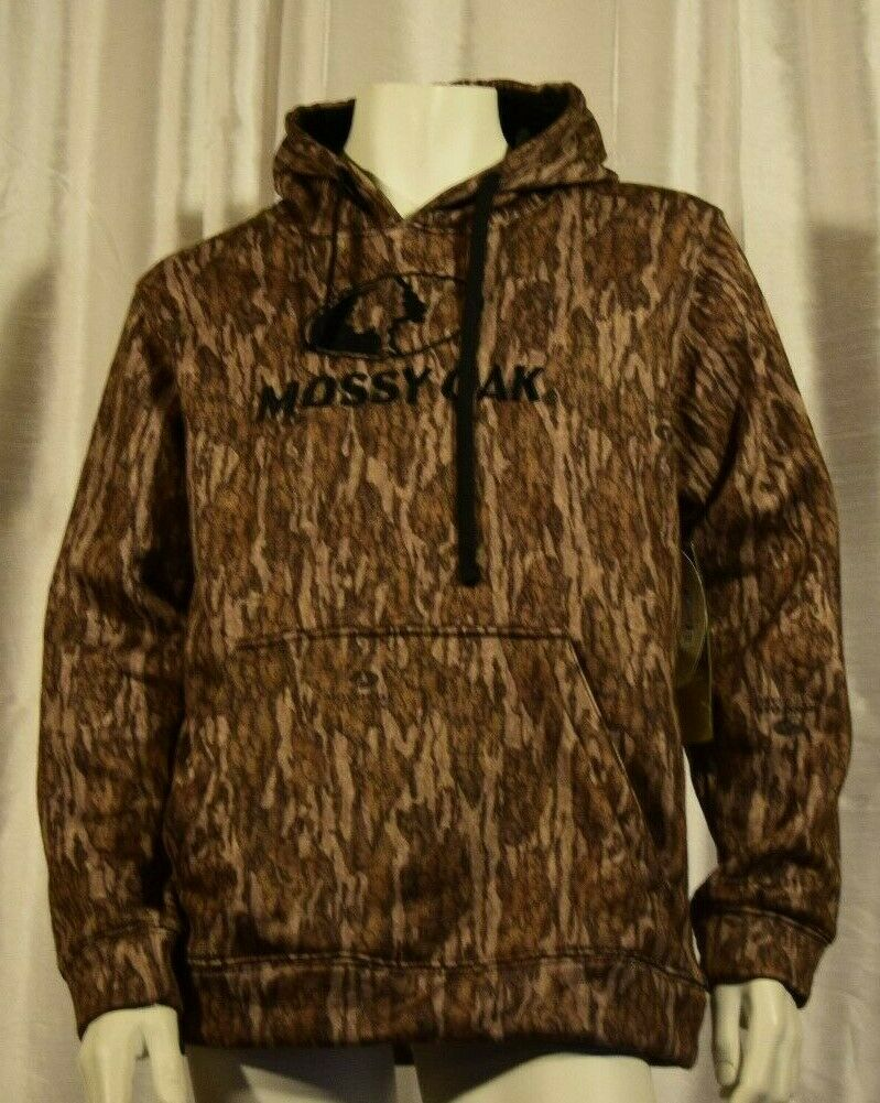 MEN'S MOSSY OAK  HOODED SWEATSHIRT CABELAS -HUNTING HOODY CAMO - SIZE 2XL - NW OT  the best selection of