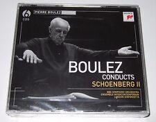 Boulez Conducts Schoenberg II (CD, 2009, 6 Discs) Sony - new