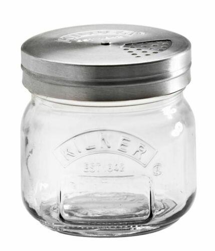 Kilner storange à Épices Verre Petit 250 ml dépoli épices