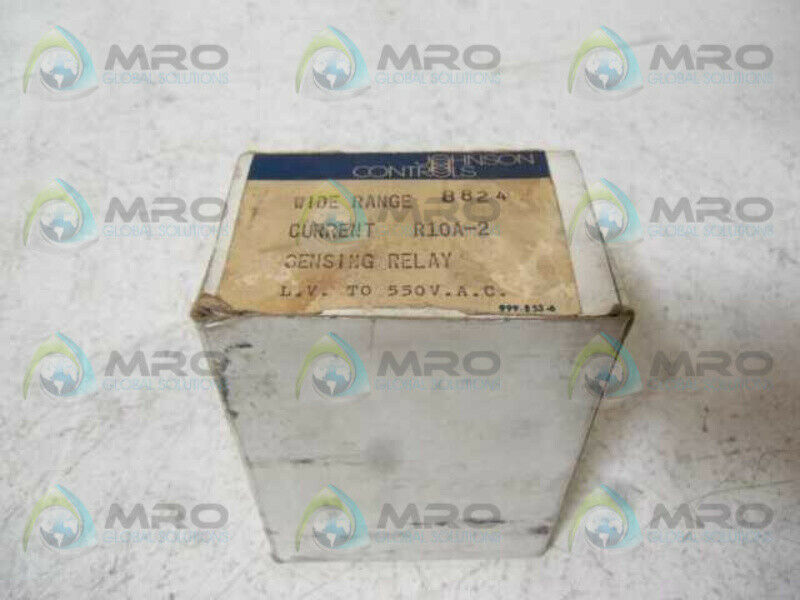 JOHNSON CONTROLS R10A-2 RELAY  NEW IN BOX