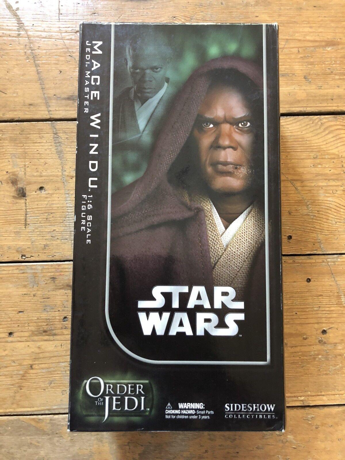 Sideshow Star Wars Order Of The Jedi Mace Windu Jedi Master AFSSC1028