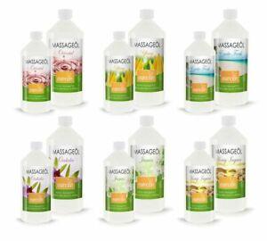 Esencion Aroma Massageöl für professionelle Wellness, 0,5 bis 5 Liter