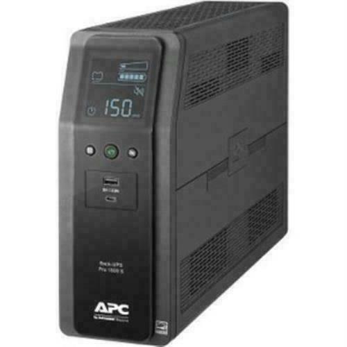 NEW! APC Sine Wave UPS Battery Backup & Surge Protector 1500