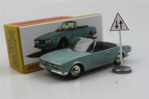 1423-Cabriolet-504-DINKY-TOYS-1-43-Atlas-modello-di-auto-in-lega-PEUGEOT-Roadster