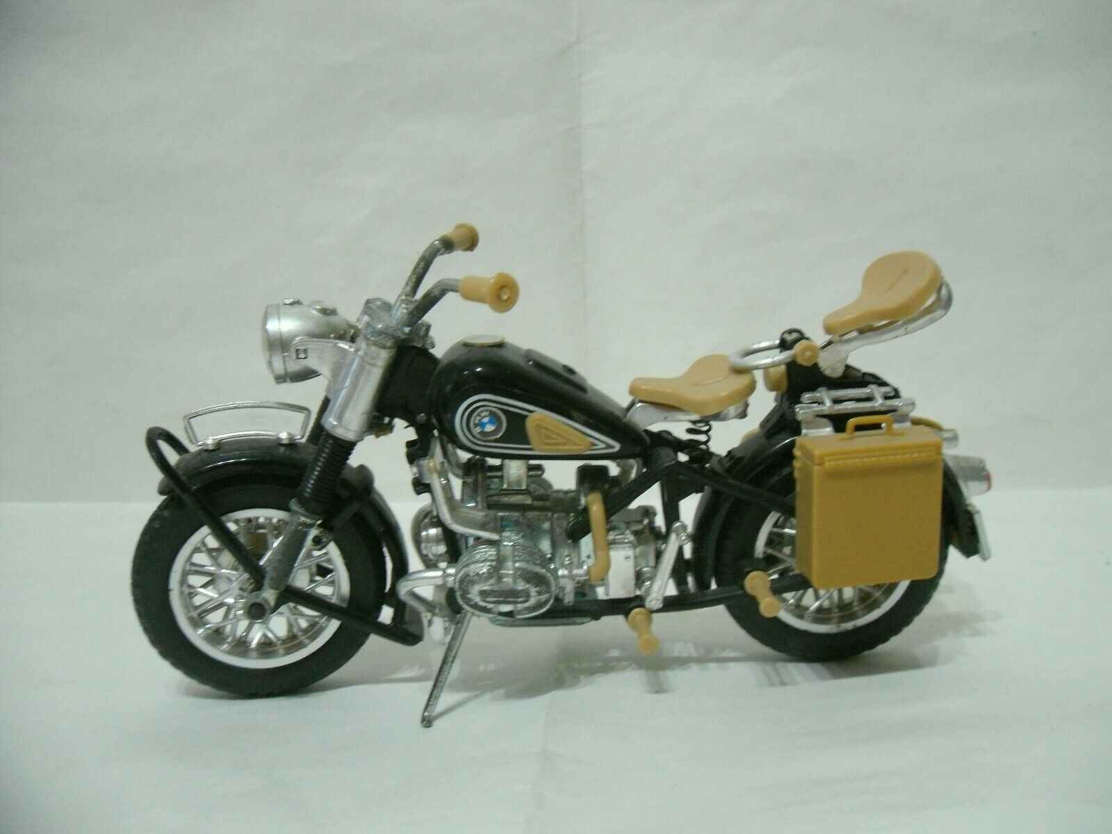 Moto Polistil anni 70 serie MS scala 1 15, MS 637 BMW R75 Elephant vintage