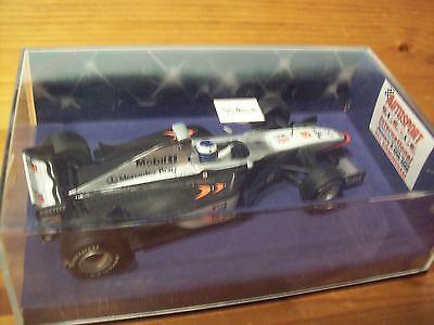 1/43 1999 Mclaren Autosport Mostra Promozione Mp4/13 Mika Hakkinen Campione Del Mondo-mostra Il Titolo Originale Stile (In) Alla Moda;